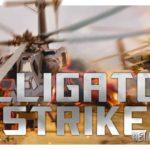 Демо игры Alligator Strike: скролл-шутер на вертолёте