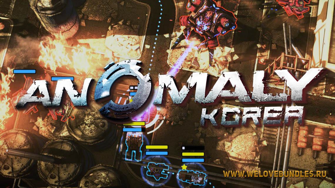 anomaly korea game art logo
