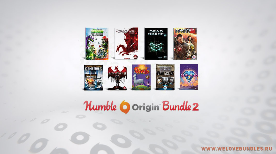 humble origin bundle game art logo