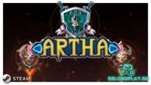 Artha game logo wallpaper