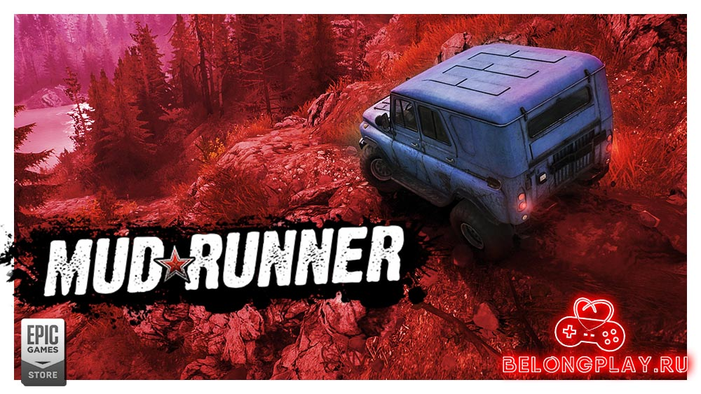 MudRunner art logo game