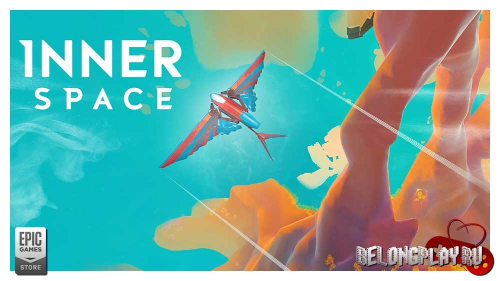 InnerSpace game art logo wallpaper