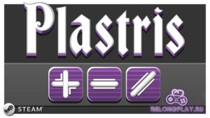 Plastris game logo art