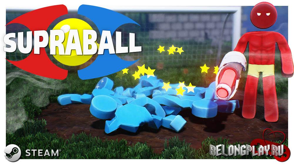 Supraball game steam art