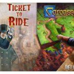 Две крутых настольных игры Carcassonne и Ticket to Ride раздаются в EGS