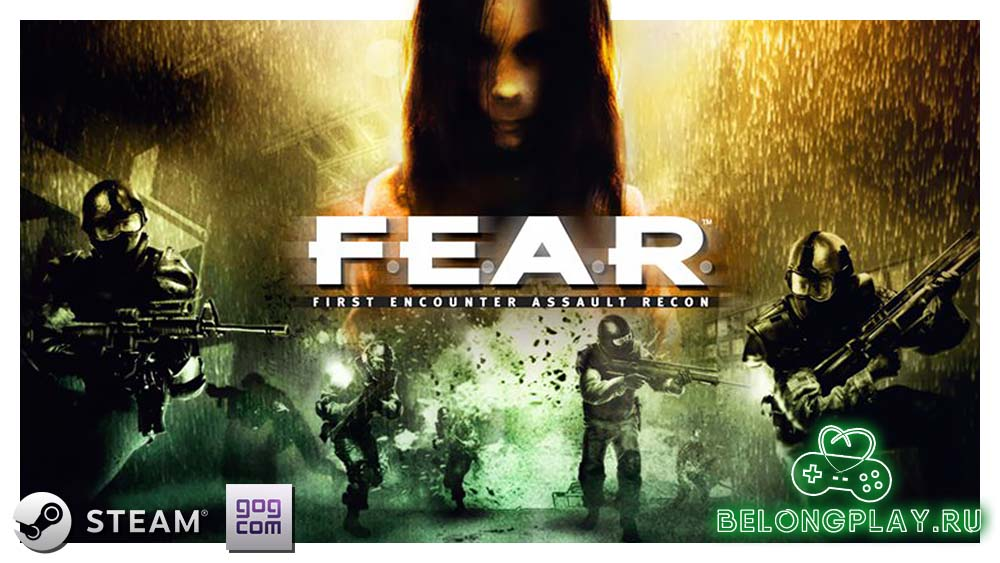 F.E.A.R. game art logo wallpaper