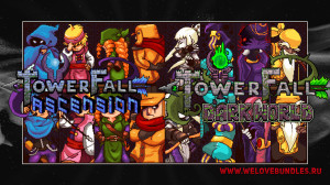 Обзор игры Towerfall (Ascension и Dark World)