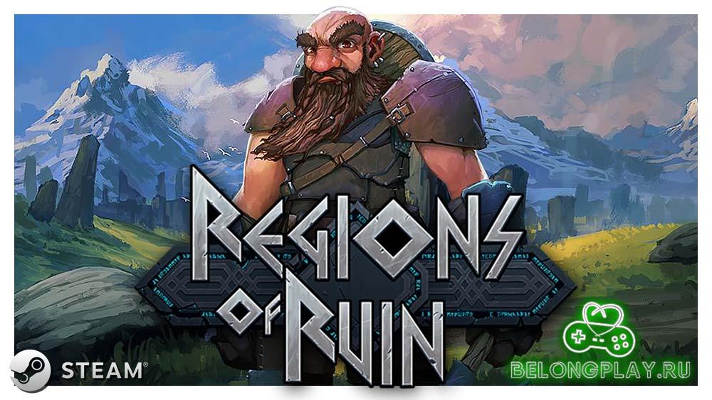 Regions Of Ruin logo art game wallpaper