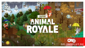 Милая королевская битва Super Animal Royale вышла в бесплатный релиз на ПК и консолях