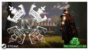 Новая шахматная игра Four Kings One War (4K1W) временно раздаётся в Steam