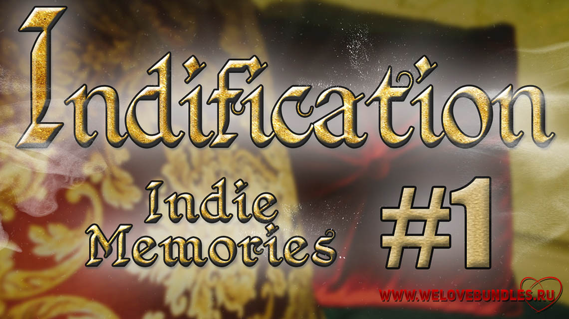 indification game art logo