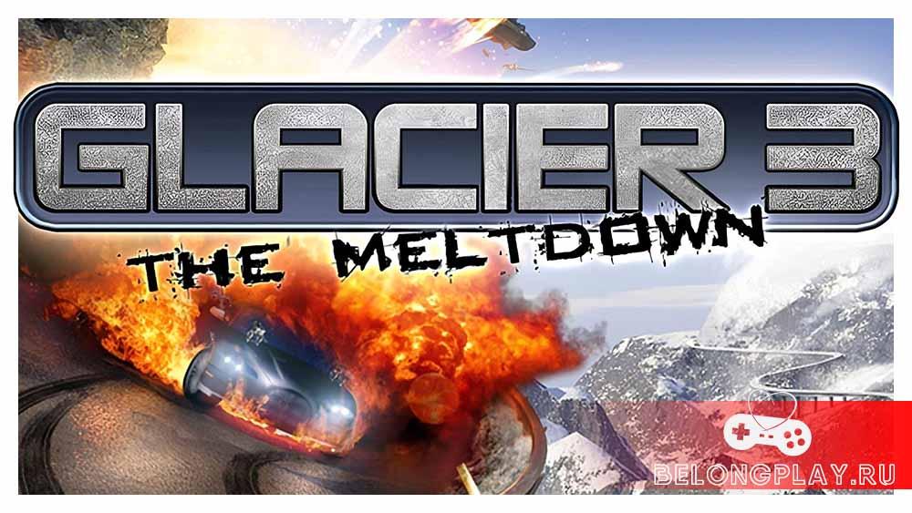 Glacier 3 The Meltdown game art logo