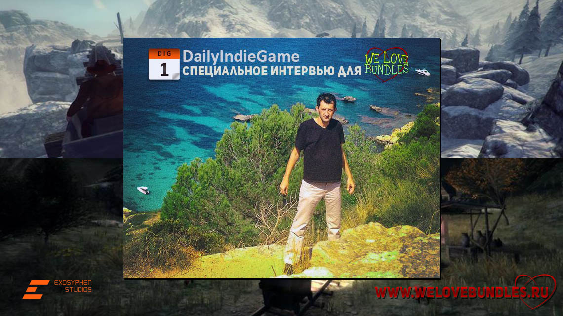 daily indie game interview game art logo
