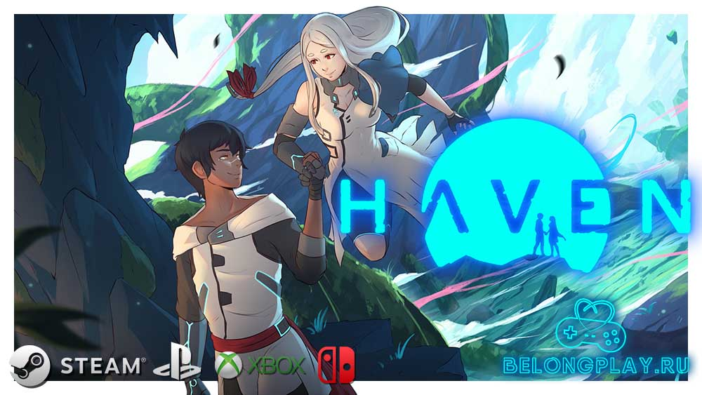 haven game art logo wallpaper