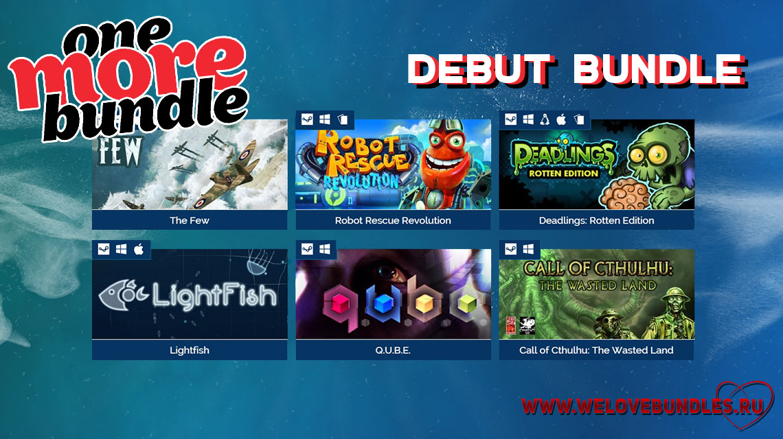 onemorebundle game art logo