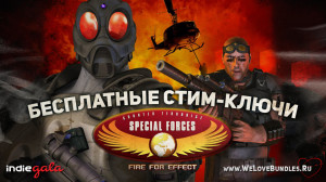 Раздача Steam-ключей игры CT Special Forces: Fire for Effect