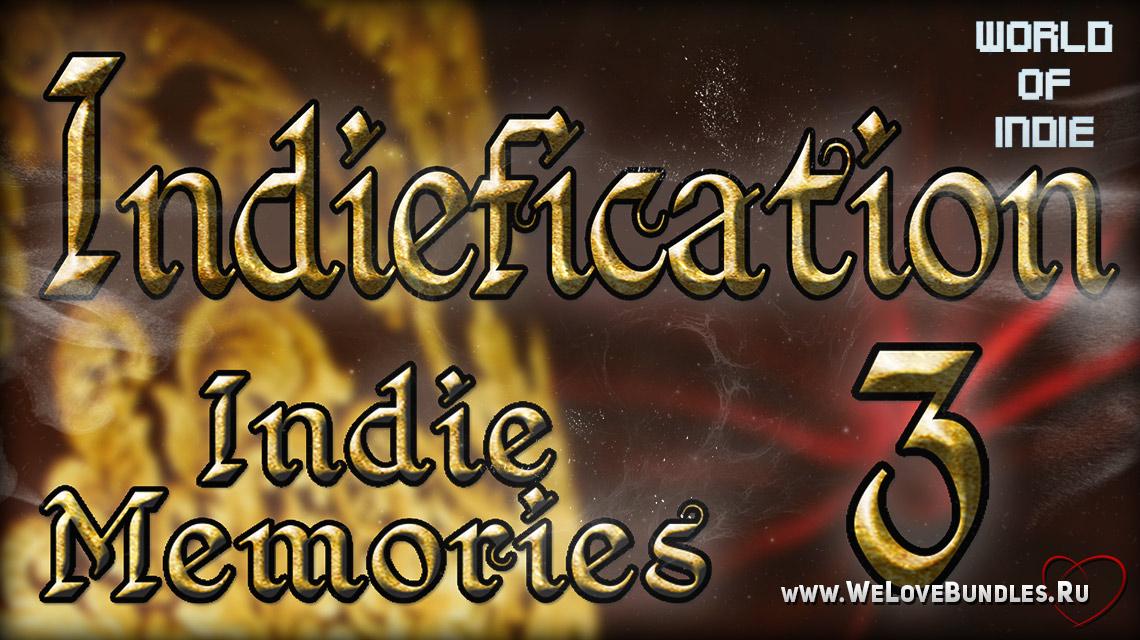 Indiefication3 game art logo