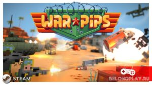 Warpips game logo art wallpaper