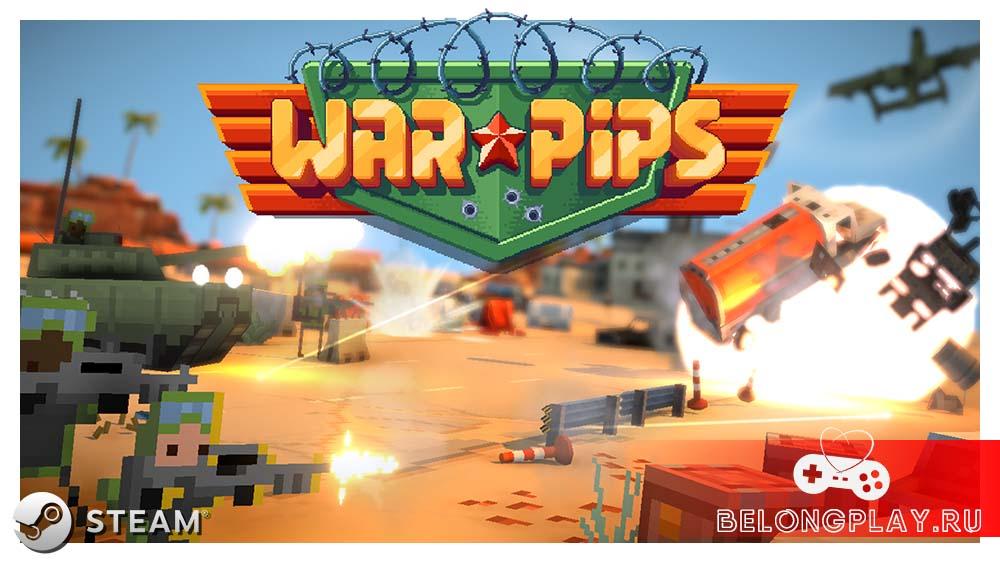 Warpips game logo art wallpaper