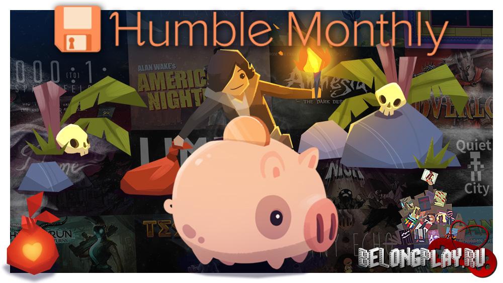 HUMBLE BUNDLE MONTHLY