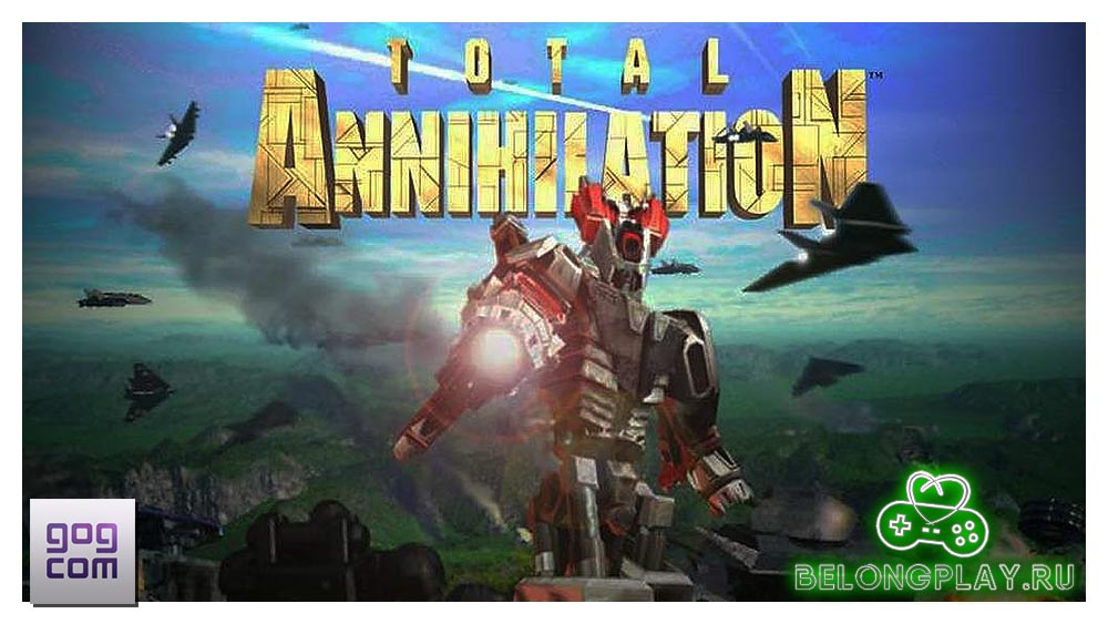 Total annihilation logo art wallpaper