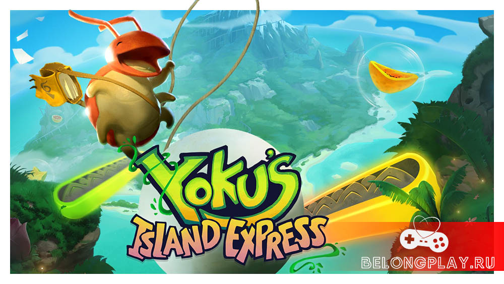 Yoku's Island Express wallpapers