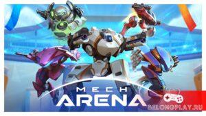 MECH ARENA: Robot Showdown – бесплатная игра на iOS и Android