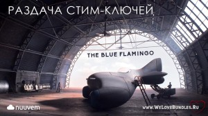 Раздача Steam-игры The Blue Flamingo от Nuuvem