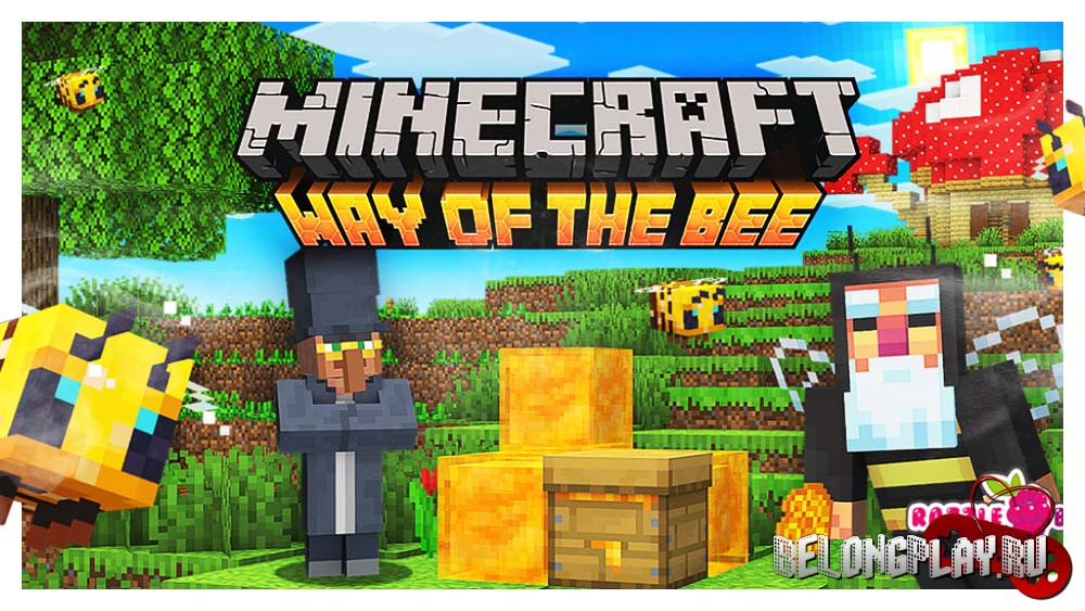 Minecraft Way of the Bee