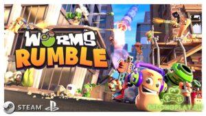 Бета-тест Worms Rumble – королевская битва Червяков