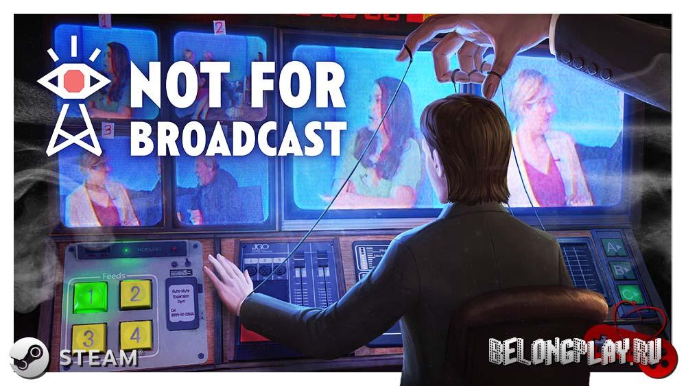 Not For Broadcast art game logo wallpaper