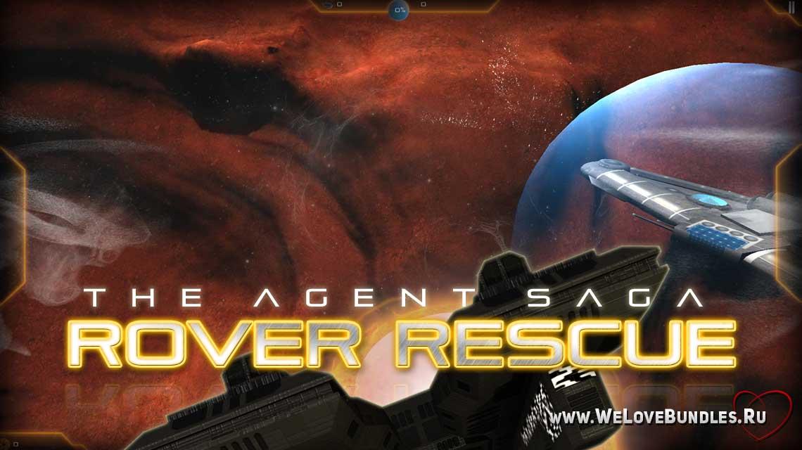 Rover Rescue game art logo