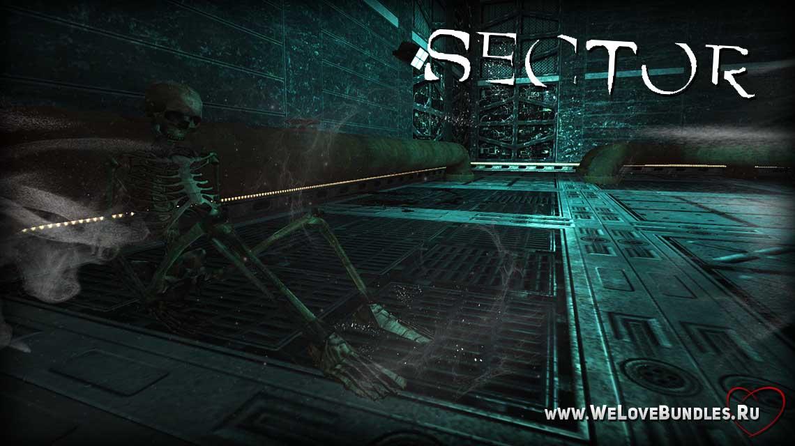 sector game steam game art logo