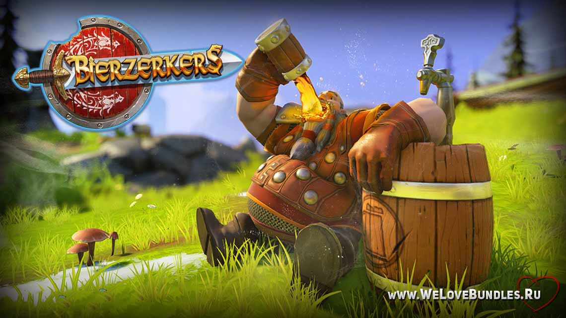 Bierzerkers game art logo