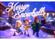 Steam-раздача VR игры Merry Snowballs – когда мало снега на улице
