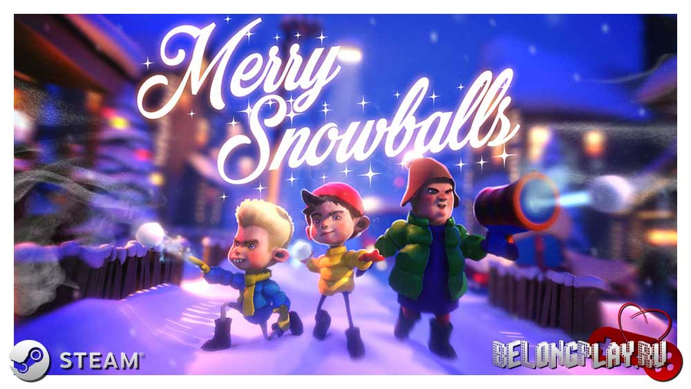Merry Snowballs VR Game