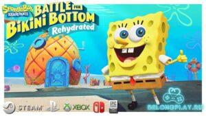 Обзор SpongeBob SquarePants: Battle for Bikini Bottom – Rehydrated – трусы хардкора