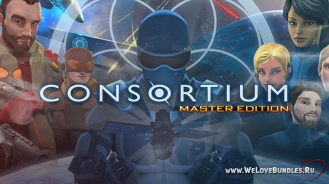 consortium master edition game art logo