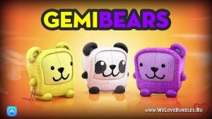 Gemibears – бесплатная паззл-игра для iOS устройств
