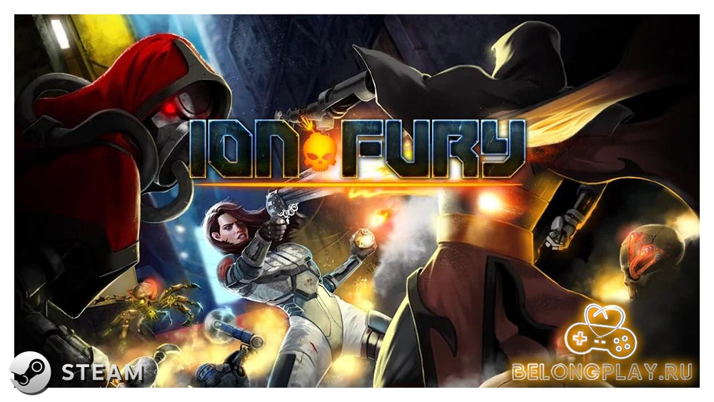 Ion Fury art logo wallpaper