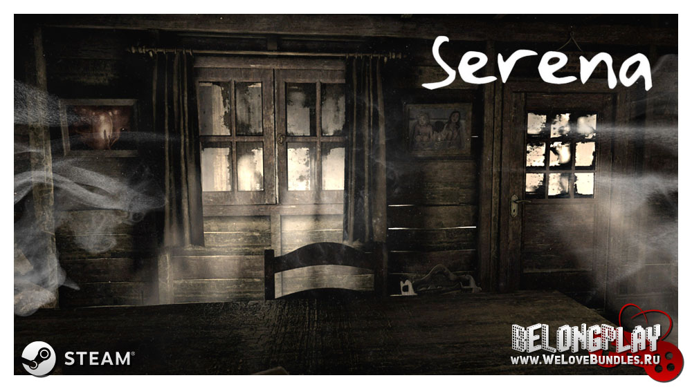 Serena steam game art logo