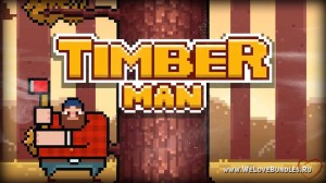 Пора рубить лес: получаем бесплатно Timberman для Steam