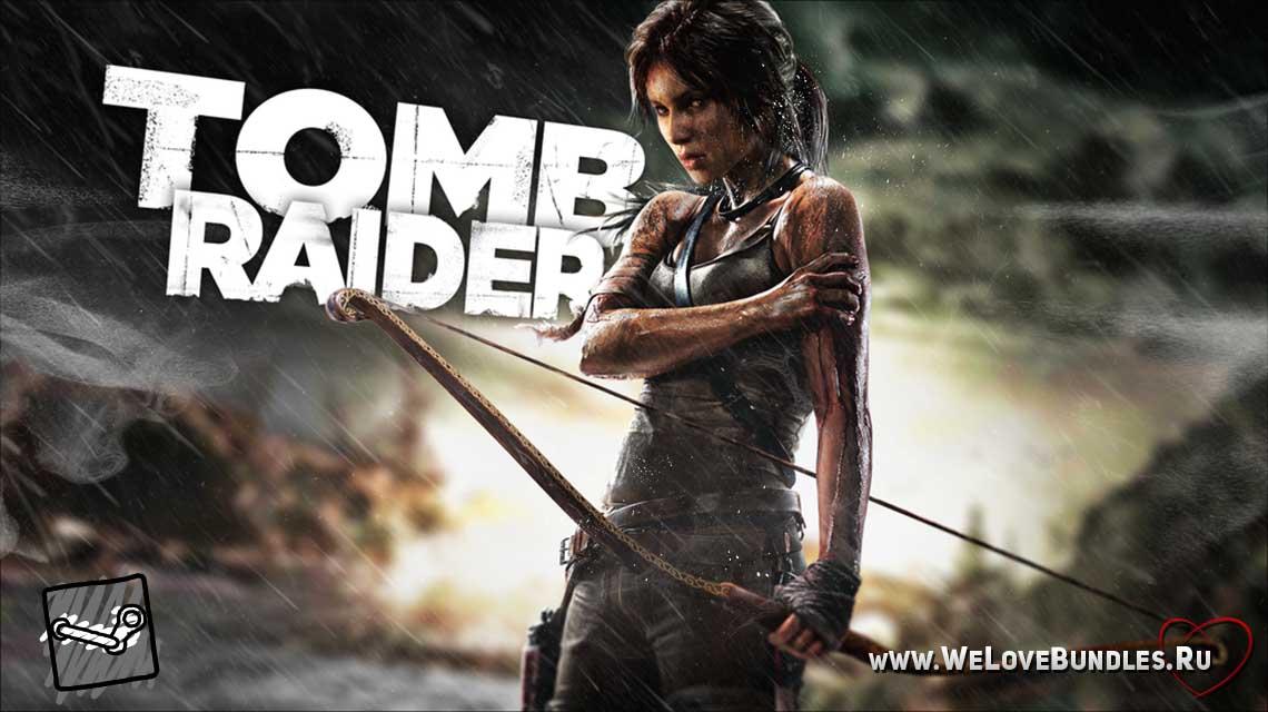 tomb raider game art logo