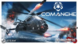 Comanche art logo wallpaper game
