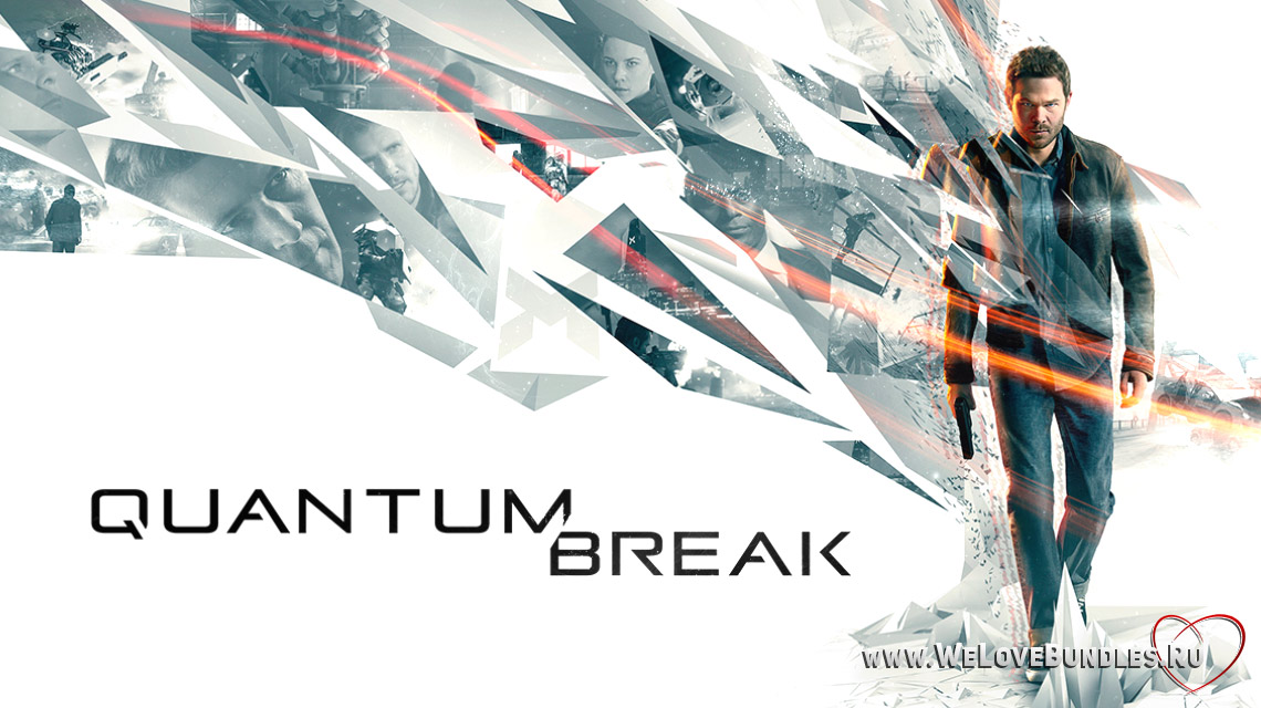 quantum break game art logo