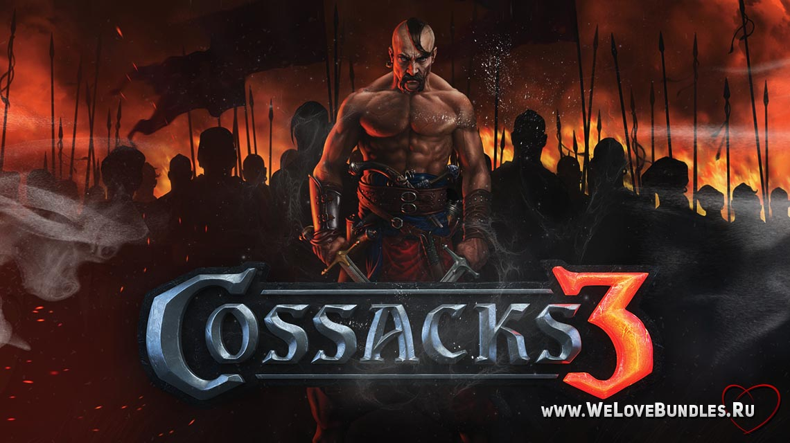Cossacks3 game art logo