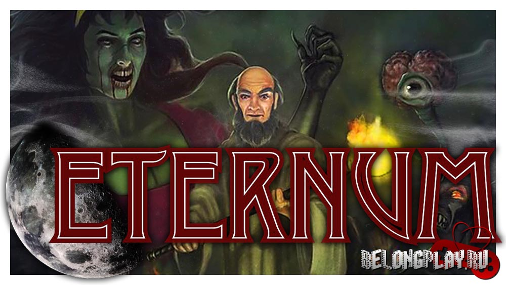 Eternum game logo art