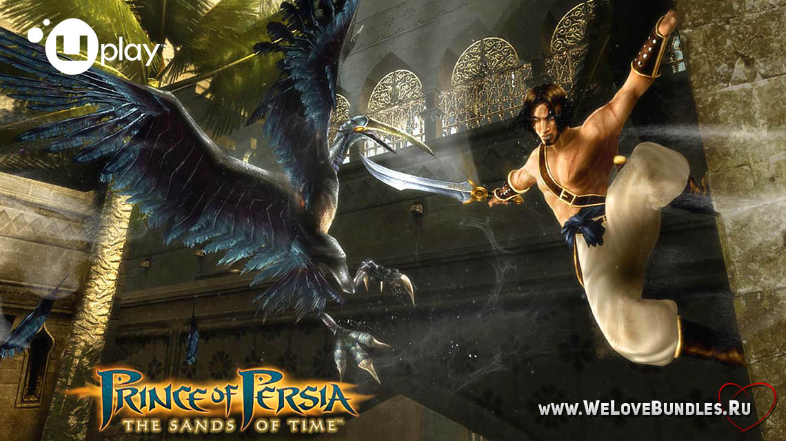 Prince of Persia The Sands of Time game art logo