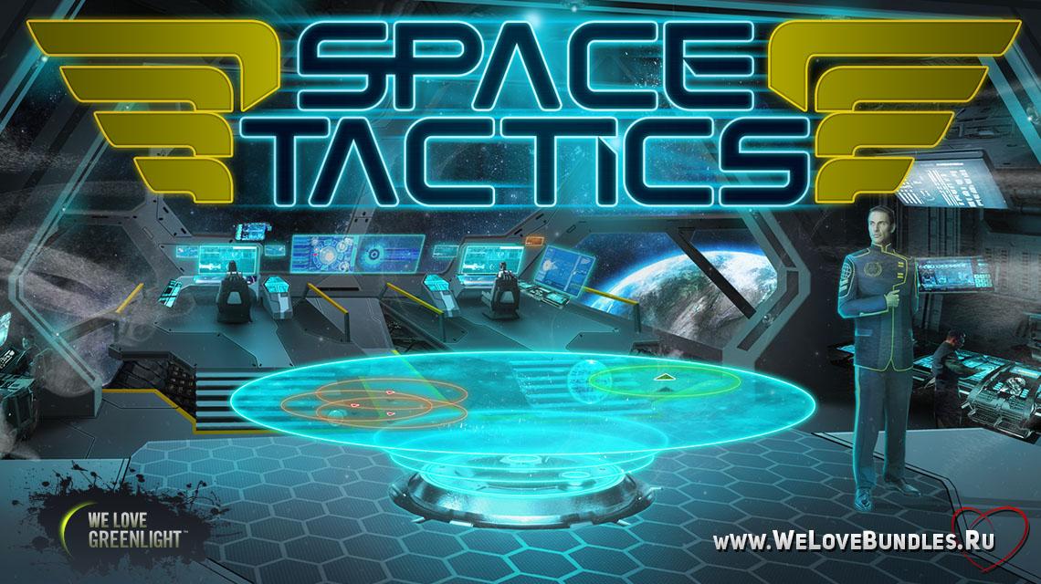 space tactics game art logo