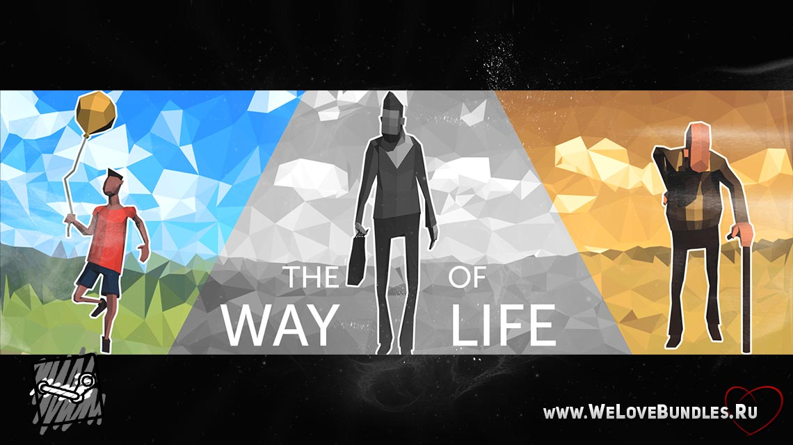 the way of life game art logo